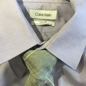Calvin Klein Extreme slim dress shirt and tie